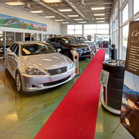 Virtual tour of Lexus Of Edmonton Pre Owned Centre